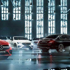 Mercedes AMG car lineup