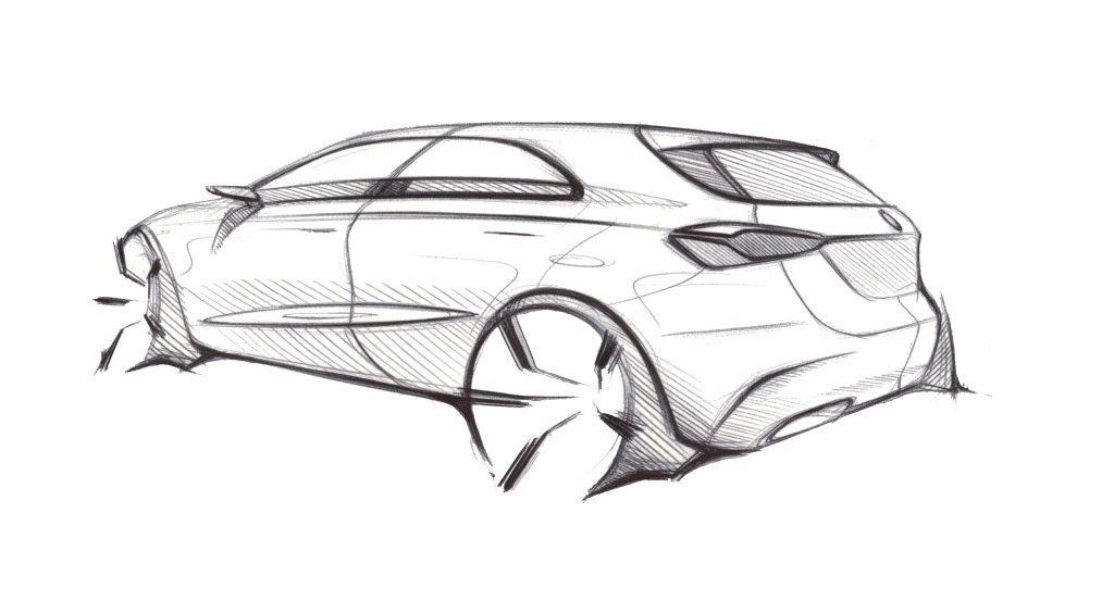 Omaľovánka auto Mercedes-Benz Vision A