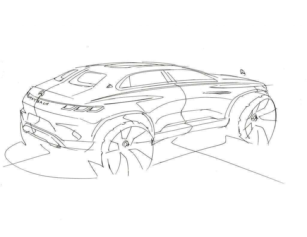 Omaľovánka auto Vision Mercedes-Maybach Ultimate Luxury