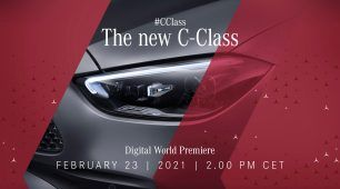 """""""Upgrade your comfort zone"""": Digitálna svetová premiéra novej Triedy C na Mercedes me media"""