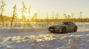 Budúci Mercedes-AMG SL na záverečnom zimnom testovaní