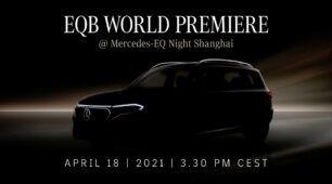 EQ Night na Mercedes me media: EQB oslávi svetovú premiéru v Šanghaji
