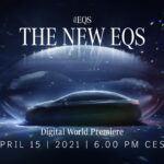 Svetová premiéra modelu EQS na platforme Mercedes me media – digitálna inscenácia progresívneho elektrického sedanu