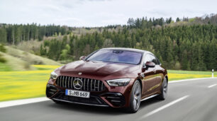 Lifestylová modernizácia úspešného modelu Mercedes-AMG GT 4-dverové kupé
