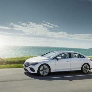 EQE: nový pokrokový elektrický biznis sedan